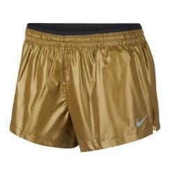 Nike Women's Elevate Metallic Running Shorts