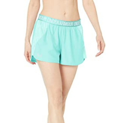 Under Armour Women's Play Up Jacquard Inset Shorts