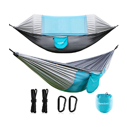 Newdora Hammock With Mosquito Net 2 Person Camping