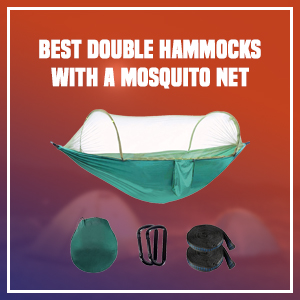 Best Double Hammocks With A Mosquito Net