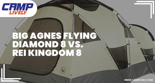 Big Agnes Flying Diamond 8 vs. Rei Kingdom 8