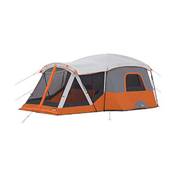 Core 11-person Family Cabin Tent with screened porch